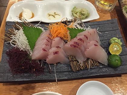 沖縄で釣れたマグロ