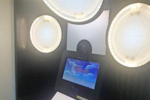 朱桜の繋 プリクラ機 内部