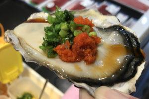 立ち食い牡蠣