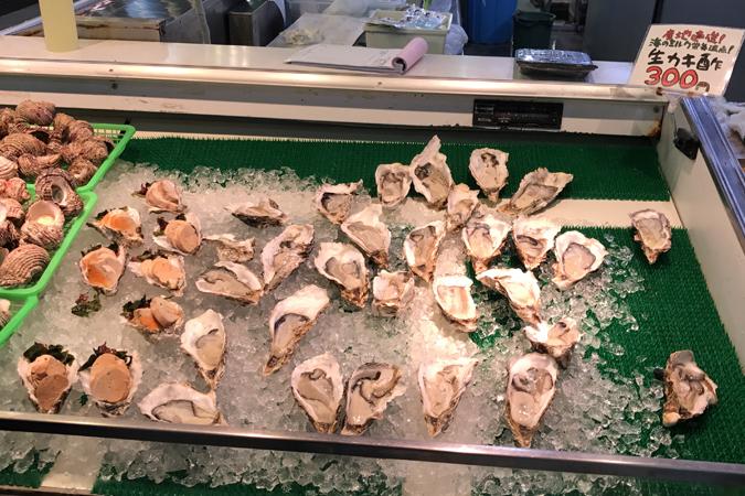 立ち食い牡蠣 自家製あん肝